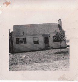 Our house. 1949.