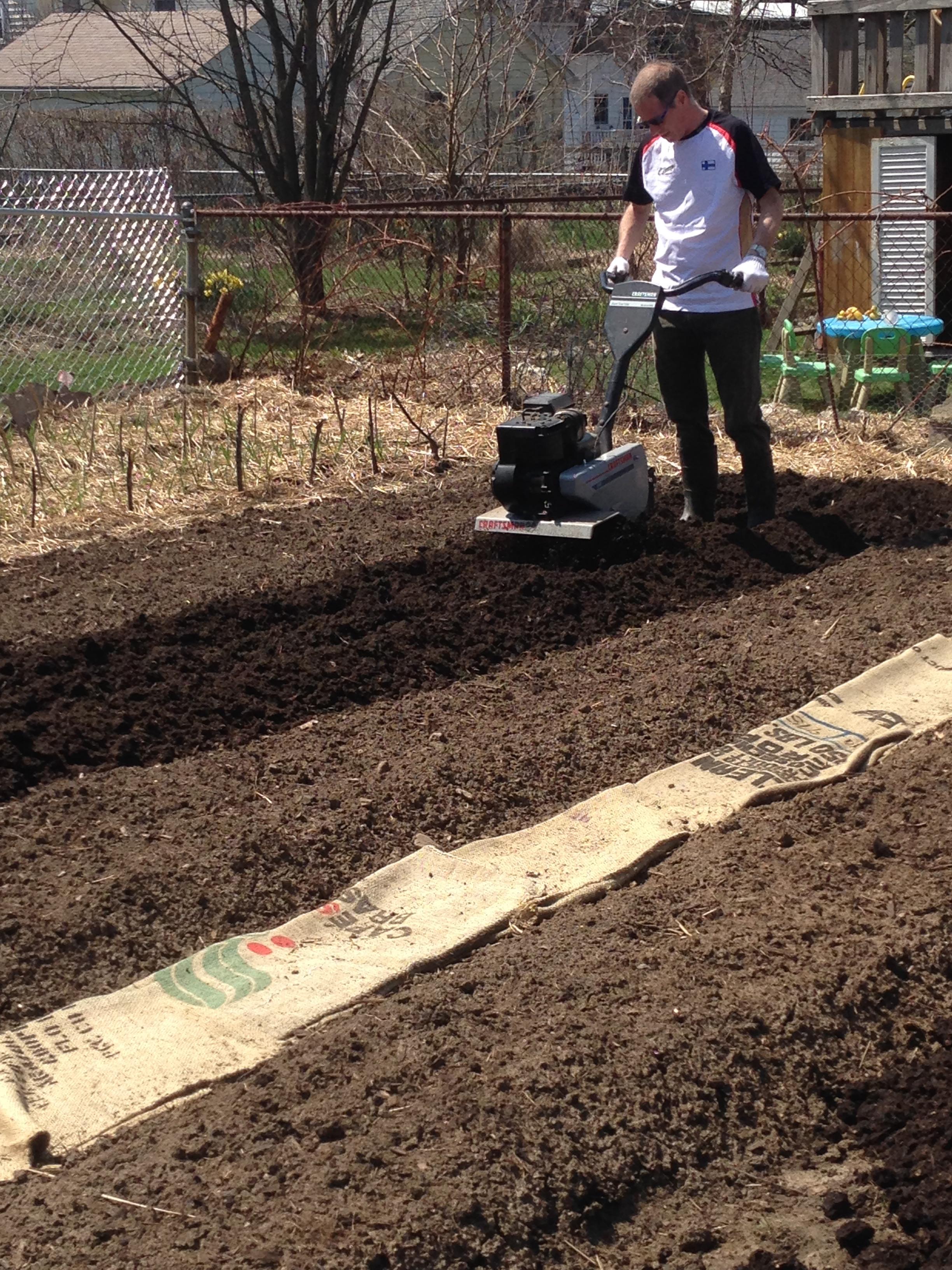 April | 2014 | Over the Fence Urban Farm